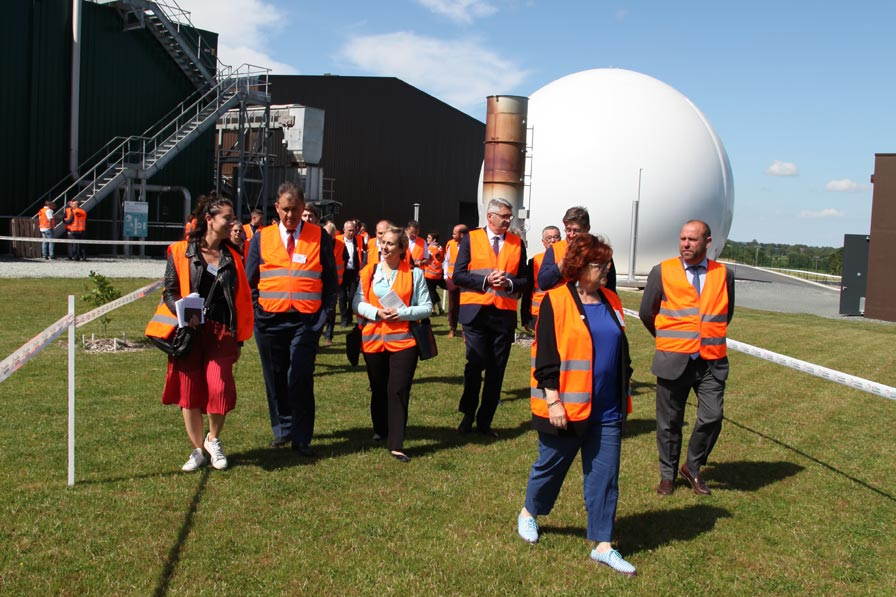 Anaerobic digestion unity in Combrand - Photo: Thierry Duqueroix